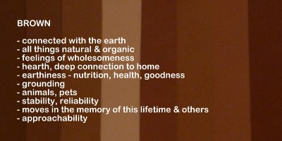 brown color meanings and symbolism