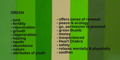 green color meanings and symbolism