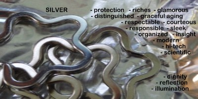 silver color meanings and symbolism