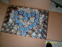 Soup Cans with messages