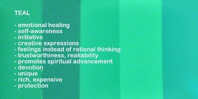 teal color meanings and symbolism